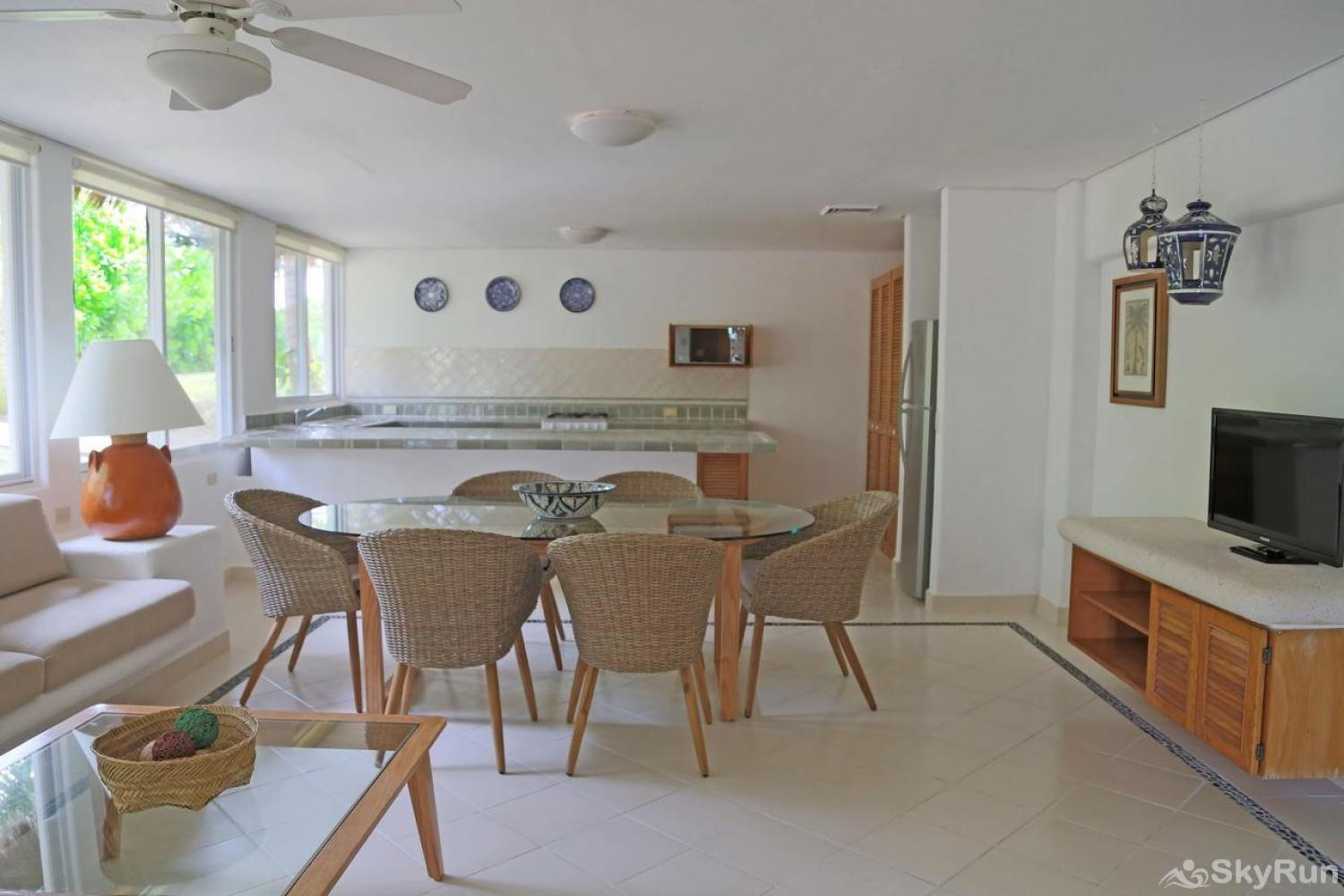 Magnificent beachfront Monet on the prestigious Akumal Beach, exclusive area north of Tulum Kitchen Essentials