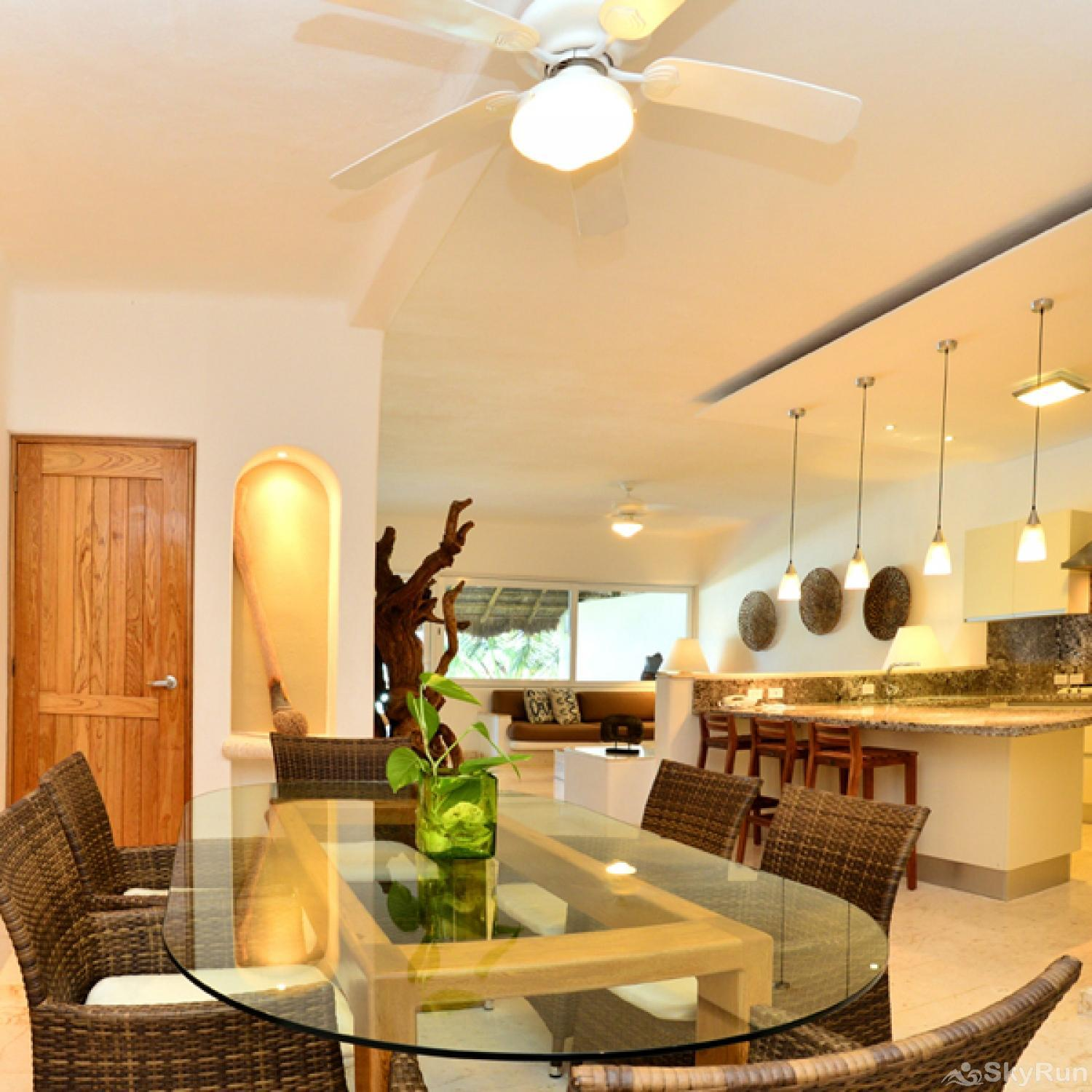 New Spectacular 303 3 Bedroom Beachfront Condo Villa close to Tulum SkyRun Riviera Maya strives to be a leader in culinary indulgence