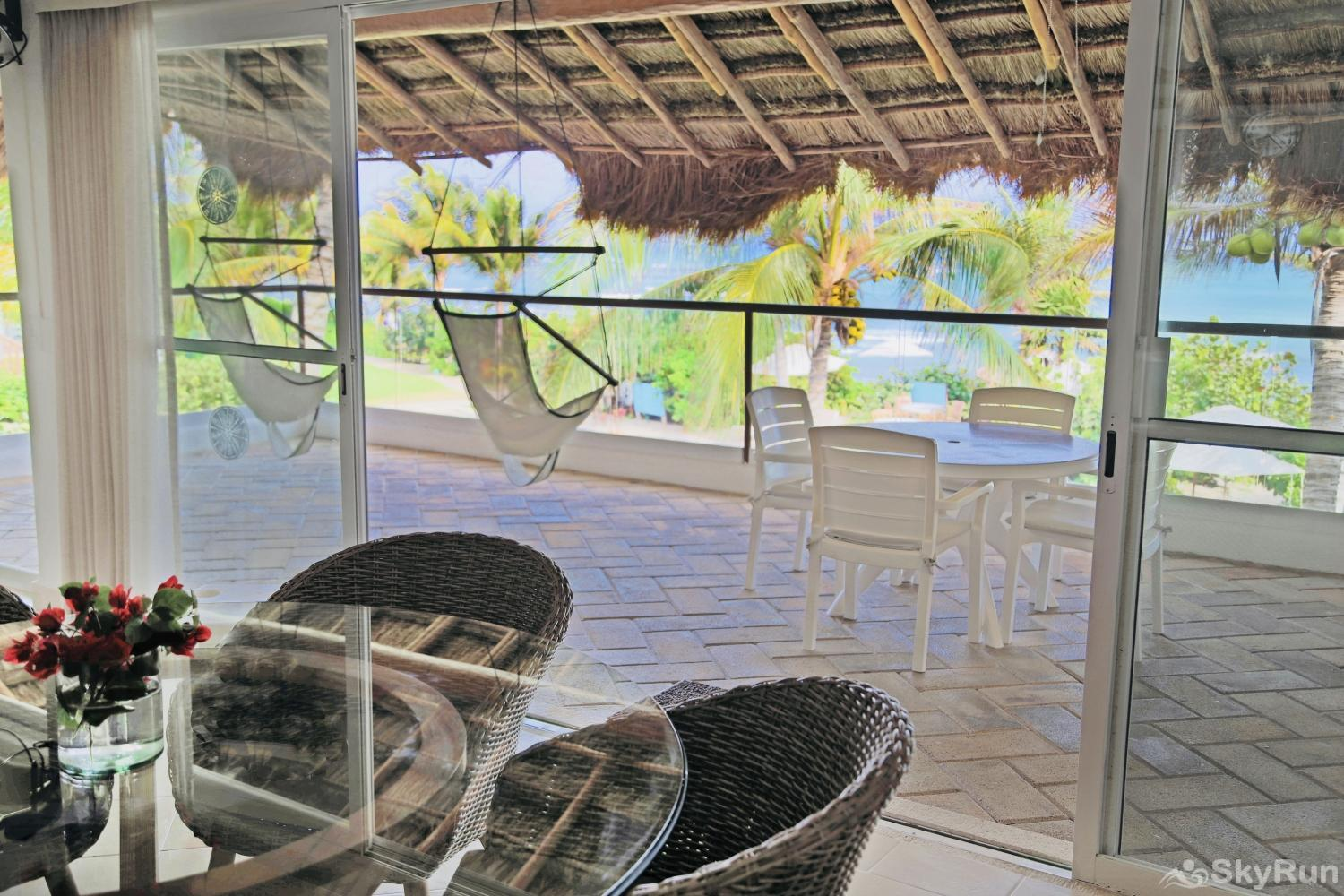 Beachfront Villa at Akumal Bay 210B 2bedroom 2nd floor Terrace 2nd Floor 2 bedroom Villa