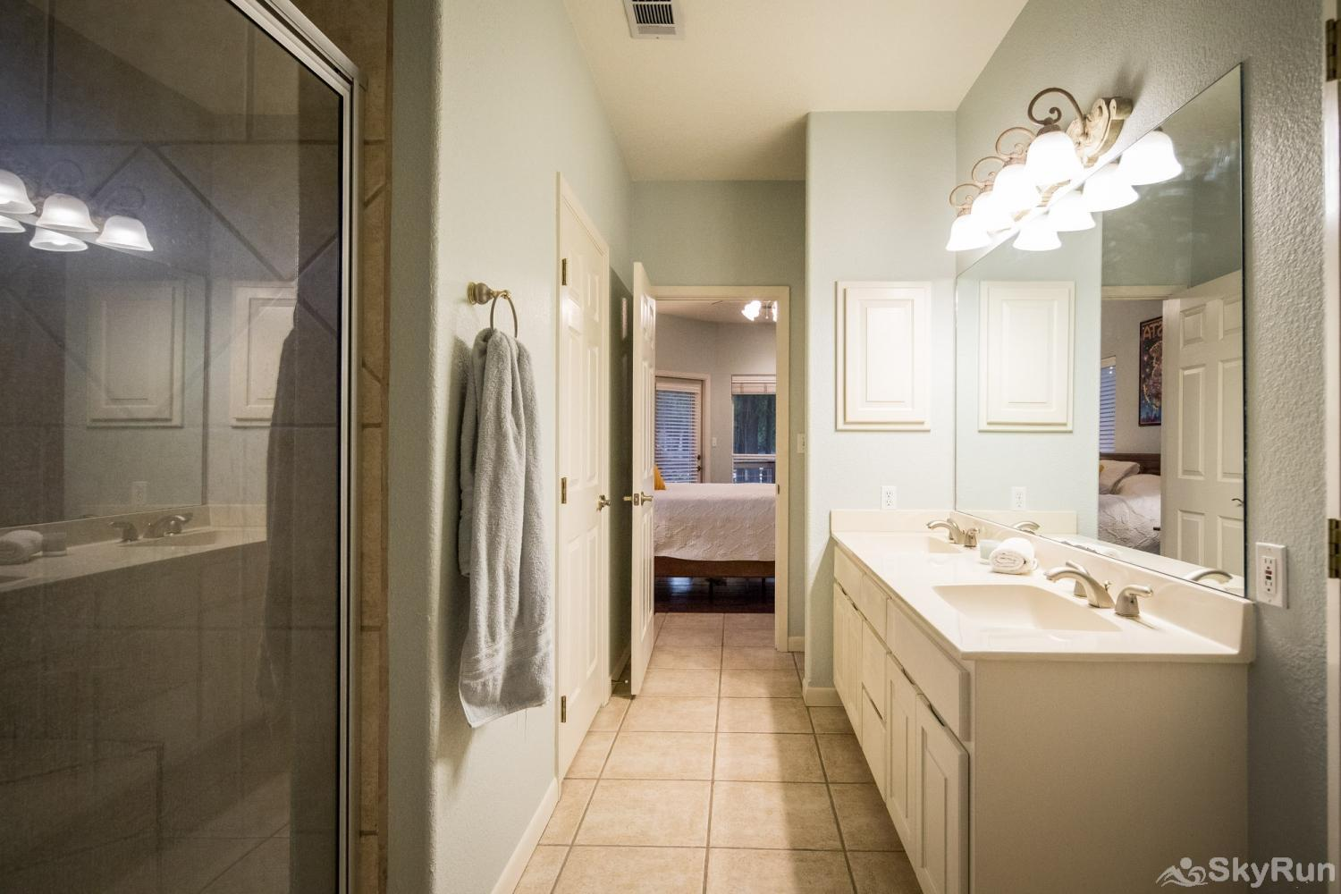 SERENITY SHORES Second Full Bathroom between Bedrooms