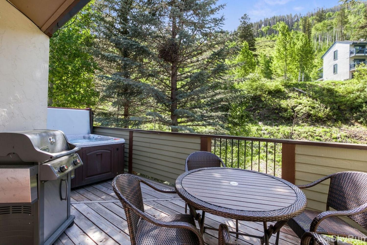 J1 Meadow Creek Condominiums Deck view