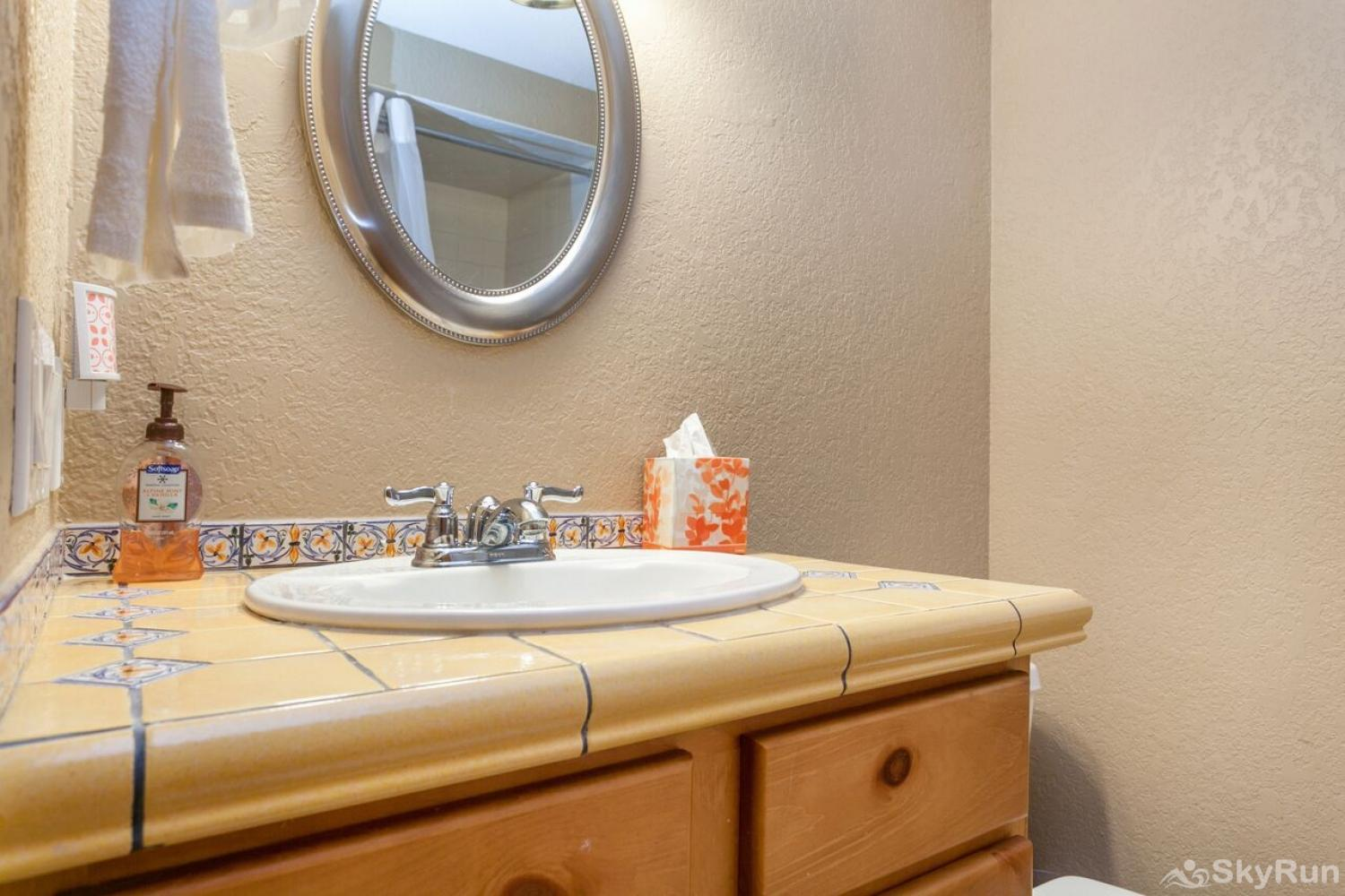 J1 Meadow Creek Condominiums Guest Bathroom