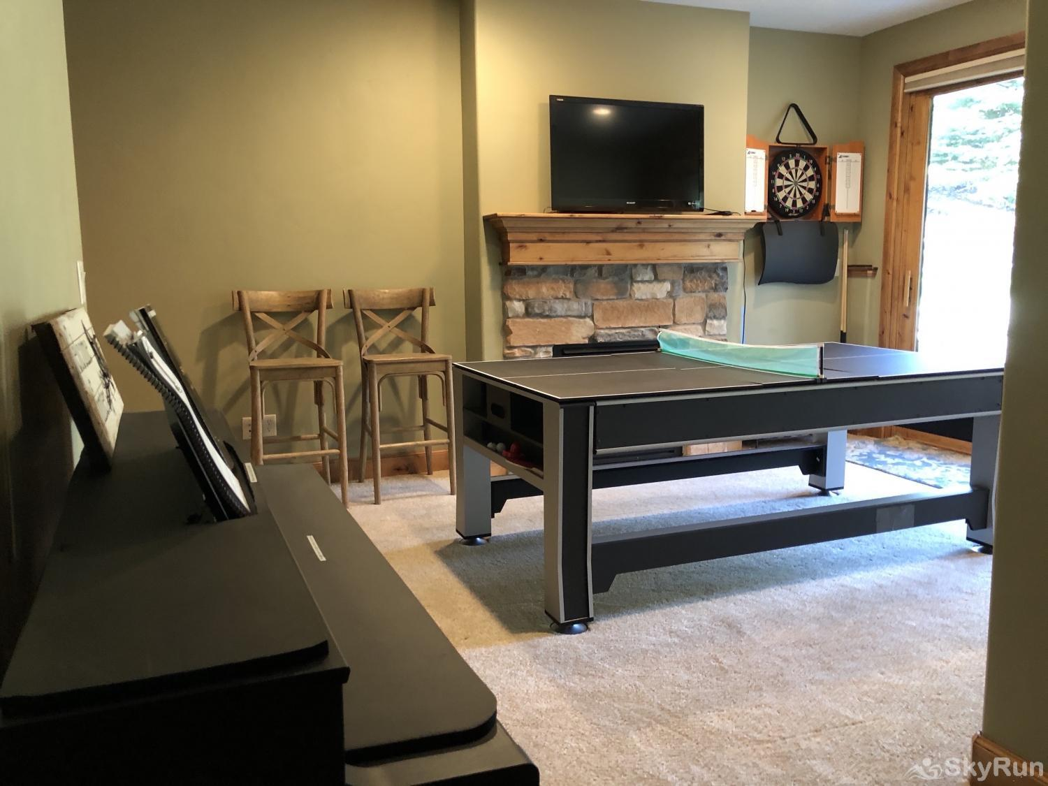 Stillwater Vista Townhome Jordenelle Game Room