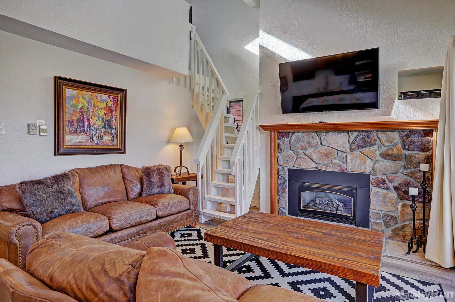 Lances West 13 Stay cozy warm by the gas fireplace on those cold winter nights