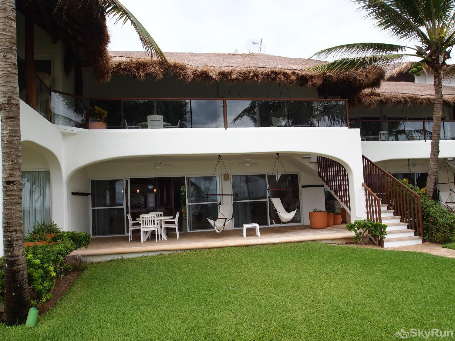 Las Villas Akumal 108  3 Bedroom Beachfront Second Floor 3 Bedroom 2nd Floor