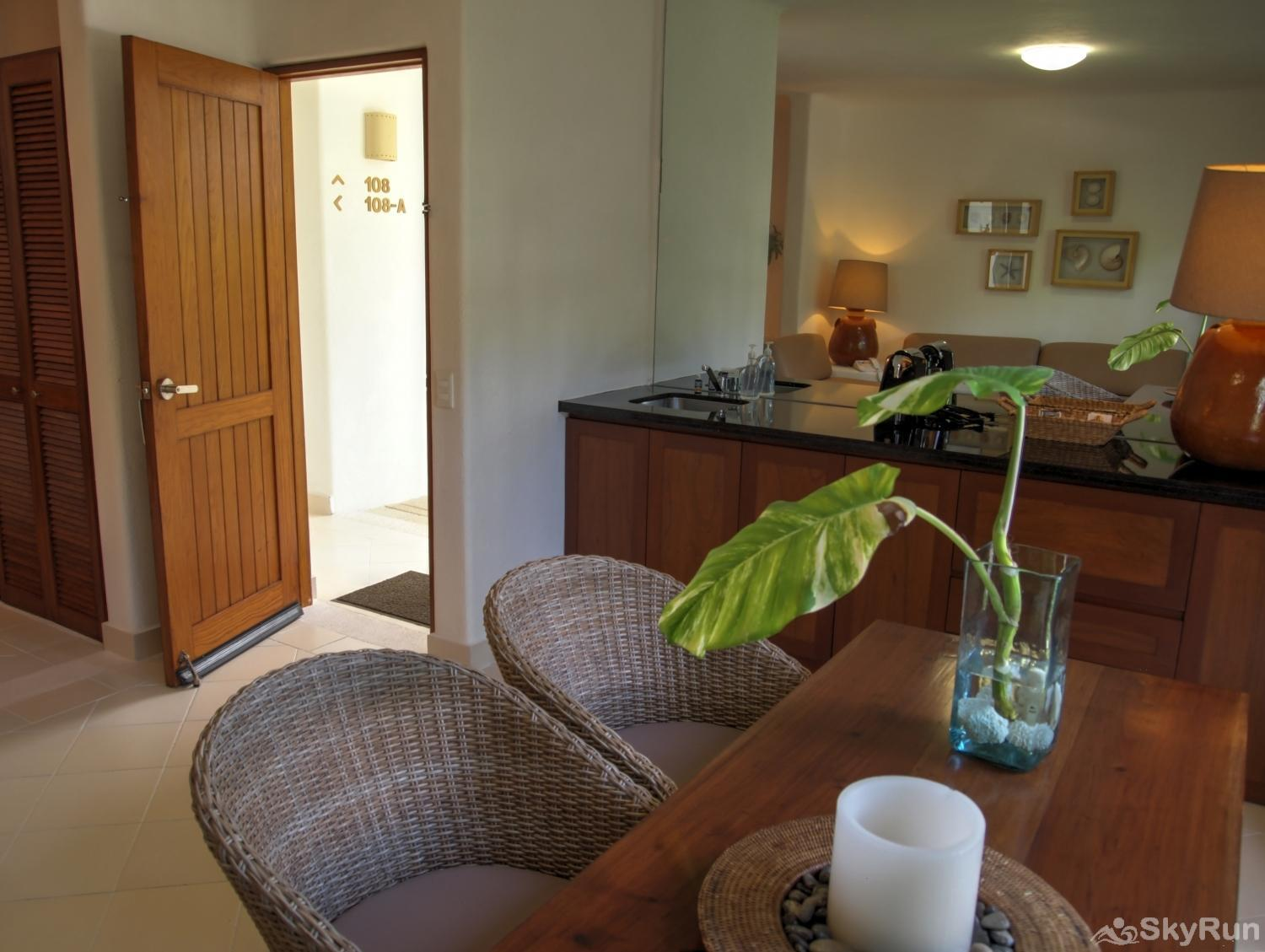 Bliss Akumal Condo Villa 1 Bedroom Garden View 108A Bliss Akumal Condo Villa 1 Bedroom Garden View 108A