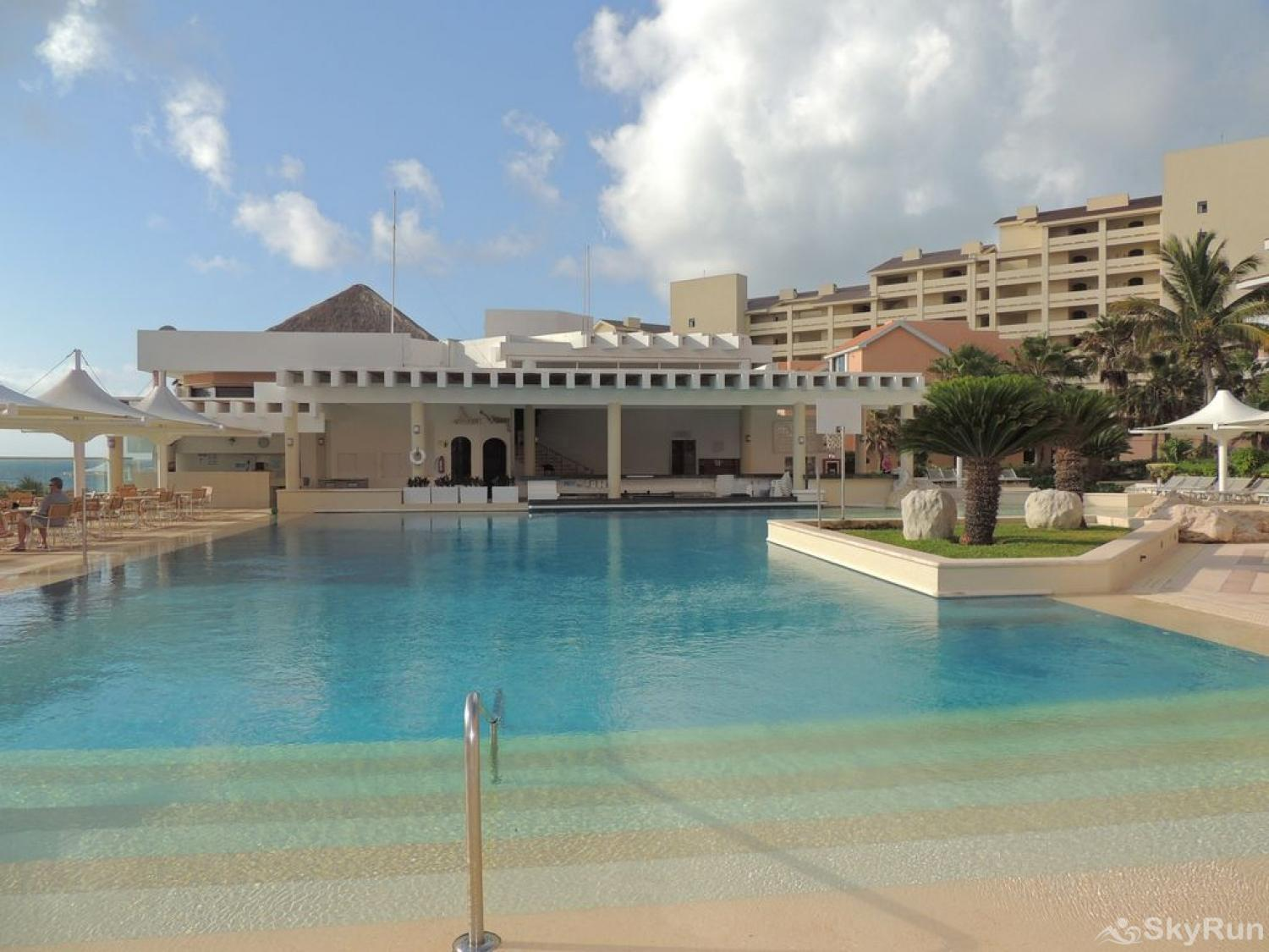 New Hotel Room Cancun Beachfront besides Private Villa , at Omni Resort Kinich Villa 33 Main pool
