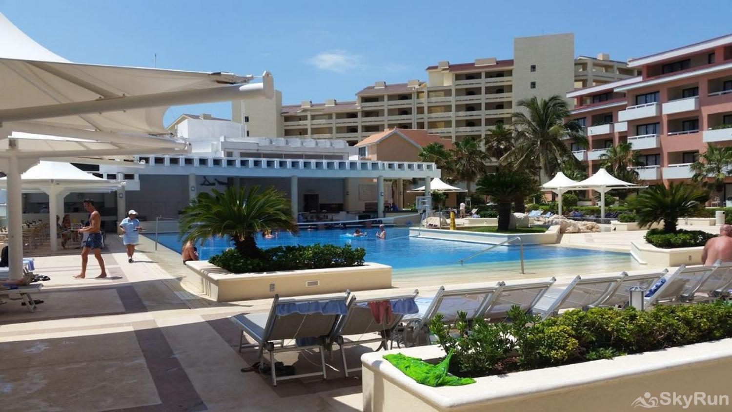 New Hotel Room Cancun Beachfront besides Private Villa , at Omni Resort Kinich Villa 33 Main Pool and Facilities
