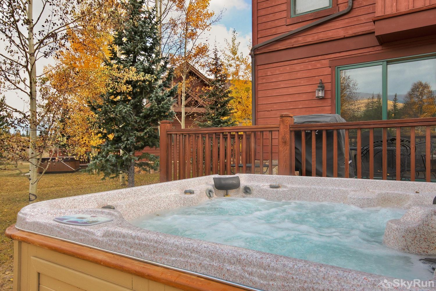 Highland Greens Spruce Private outdoor hot tub