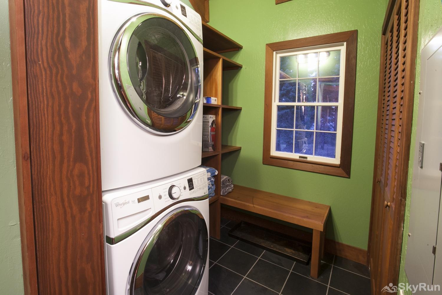 Lodgepole Northstar Luxury Home Laundry Room (main level)