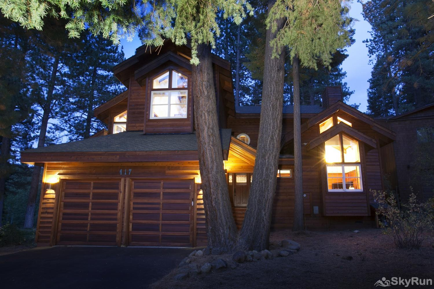 Lodgepole Northstar Luxury Home Exterior Front View