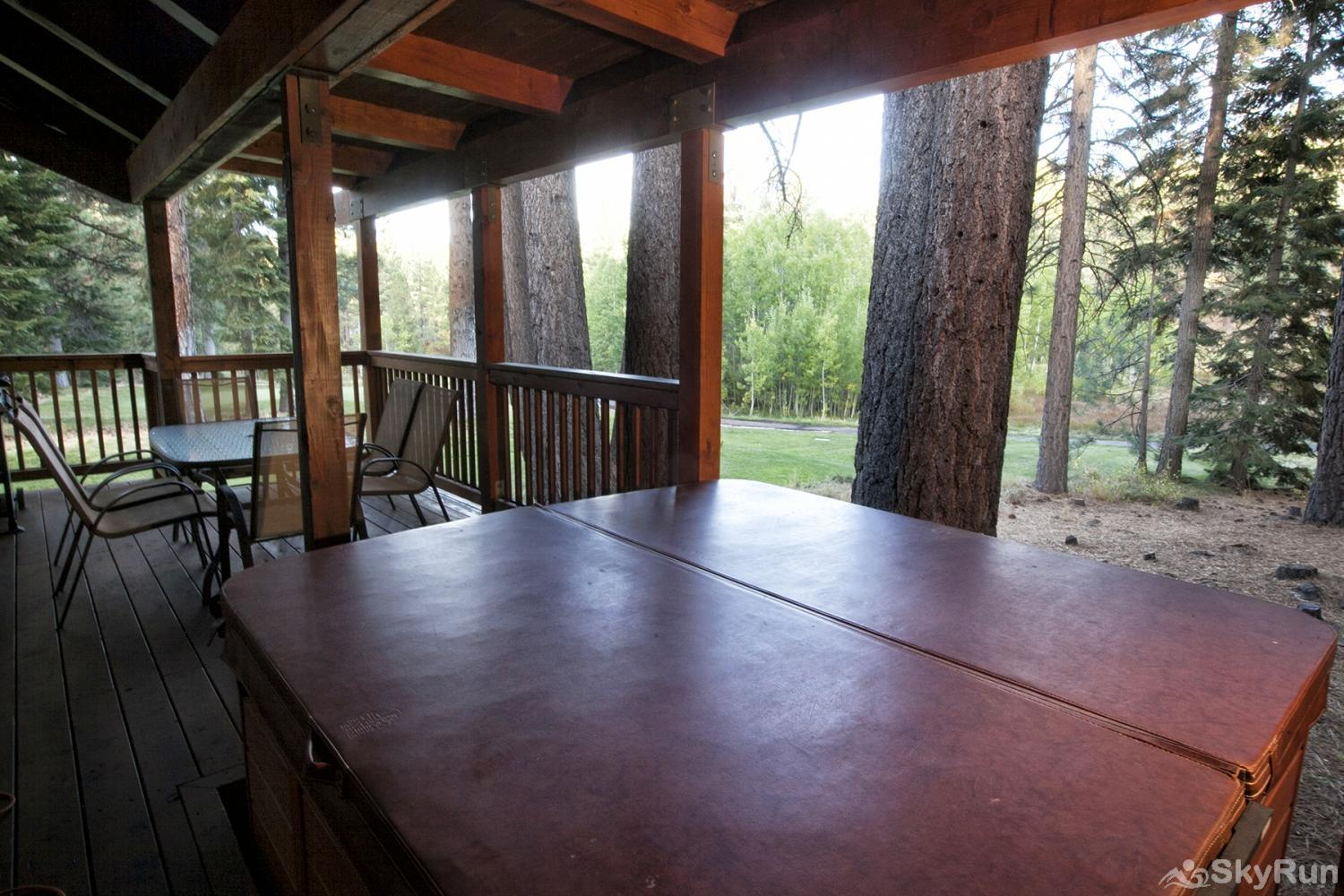 Northstar Luxury Lodgepole Retreat Covered Patio - Hot Tub!