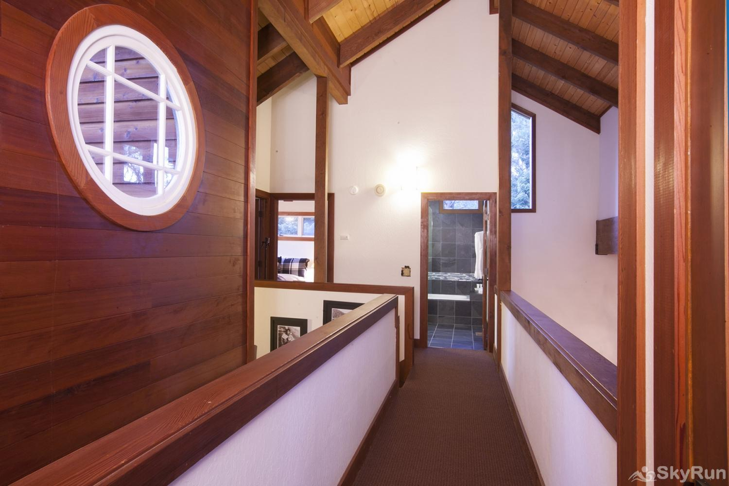 Northstar Luxury Lodgepole Retreat Hallway (upper level)