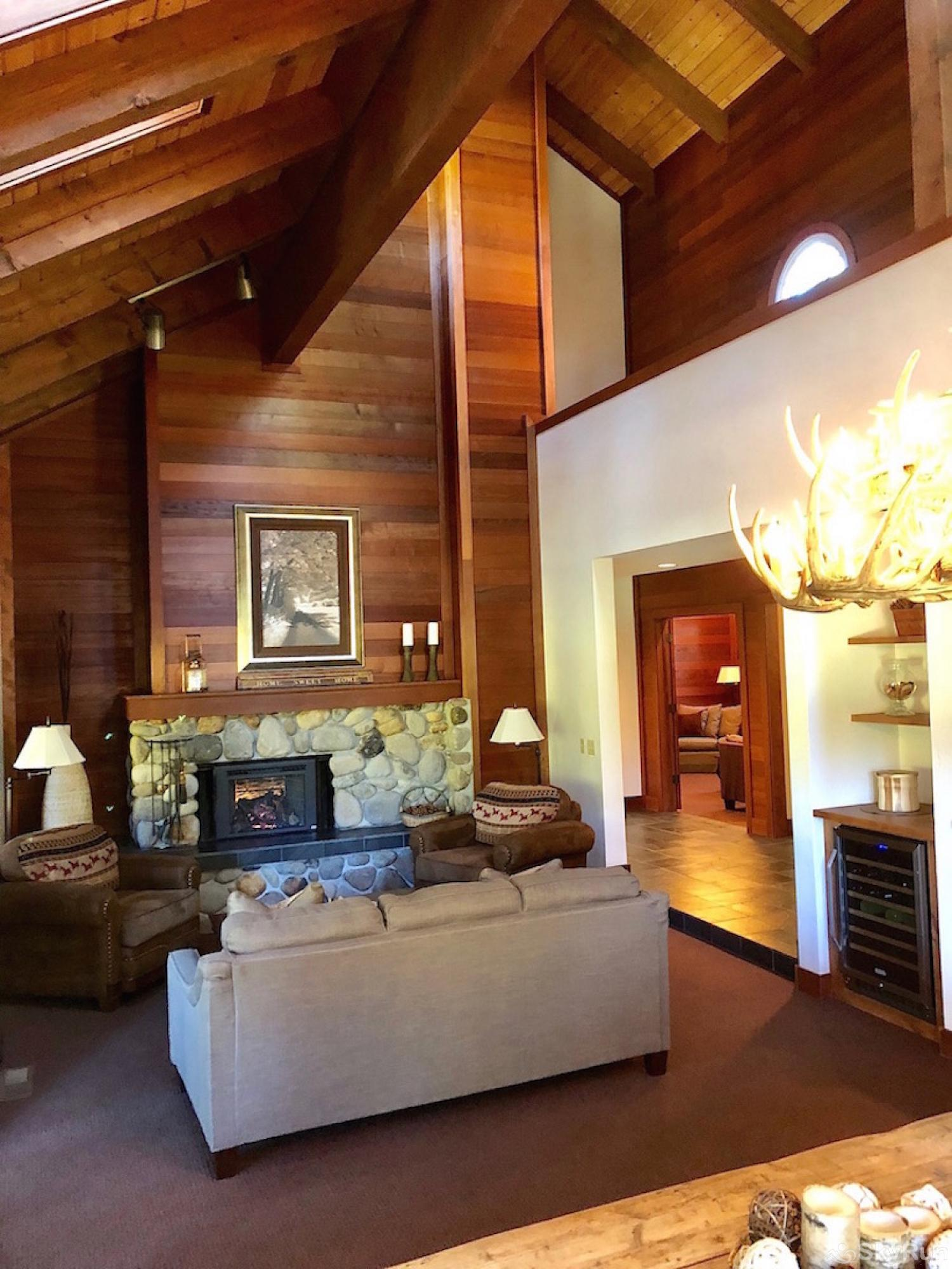Northstar Luxury Lodgepole Retreat Great Room - Open Floor Plan