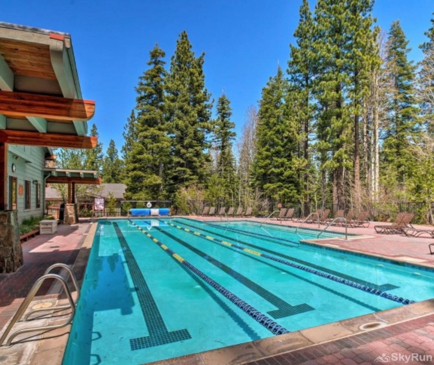 Northstar Luxury Lodgepole Retreat NPOA Recreation Center - Lap Pool