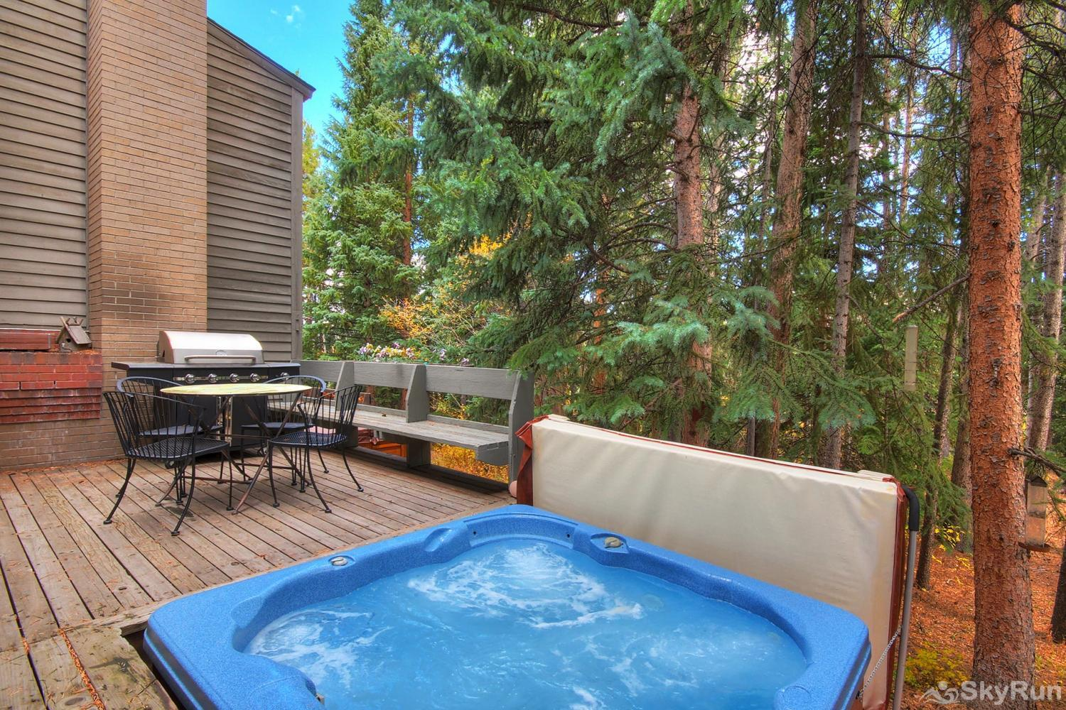 Peace In The Pines Soak your achy muscles in your private hot tub after a day of fun-filled activities