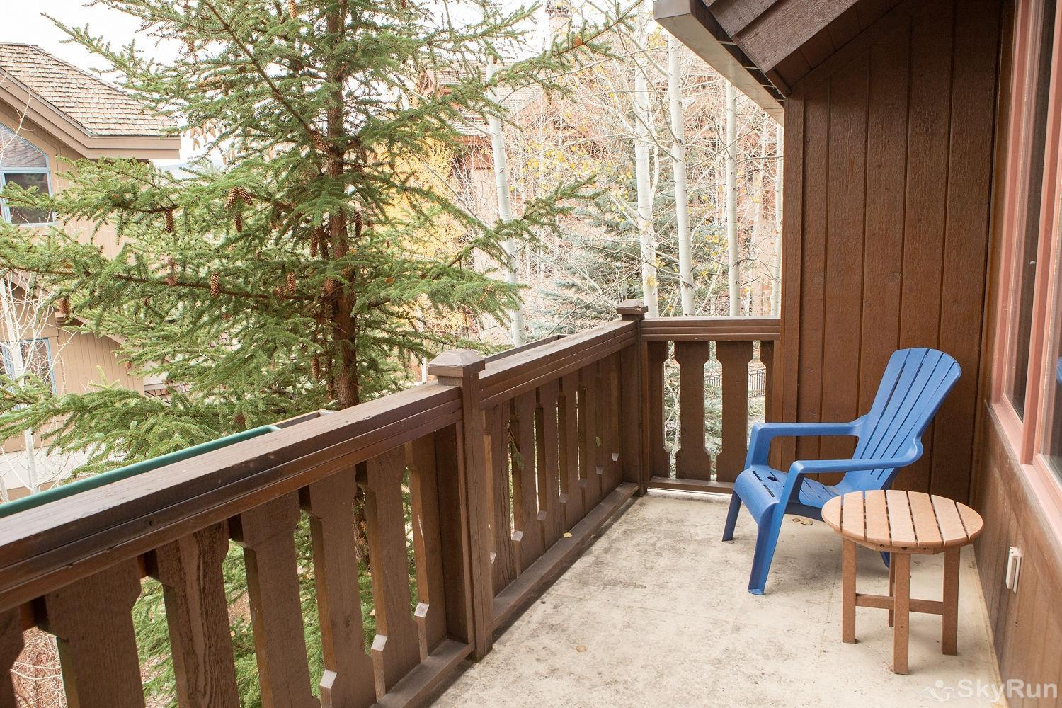 312 Aspenwood Lodge Deck off of guest bedroom