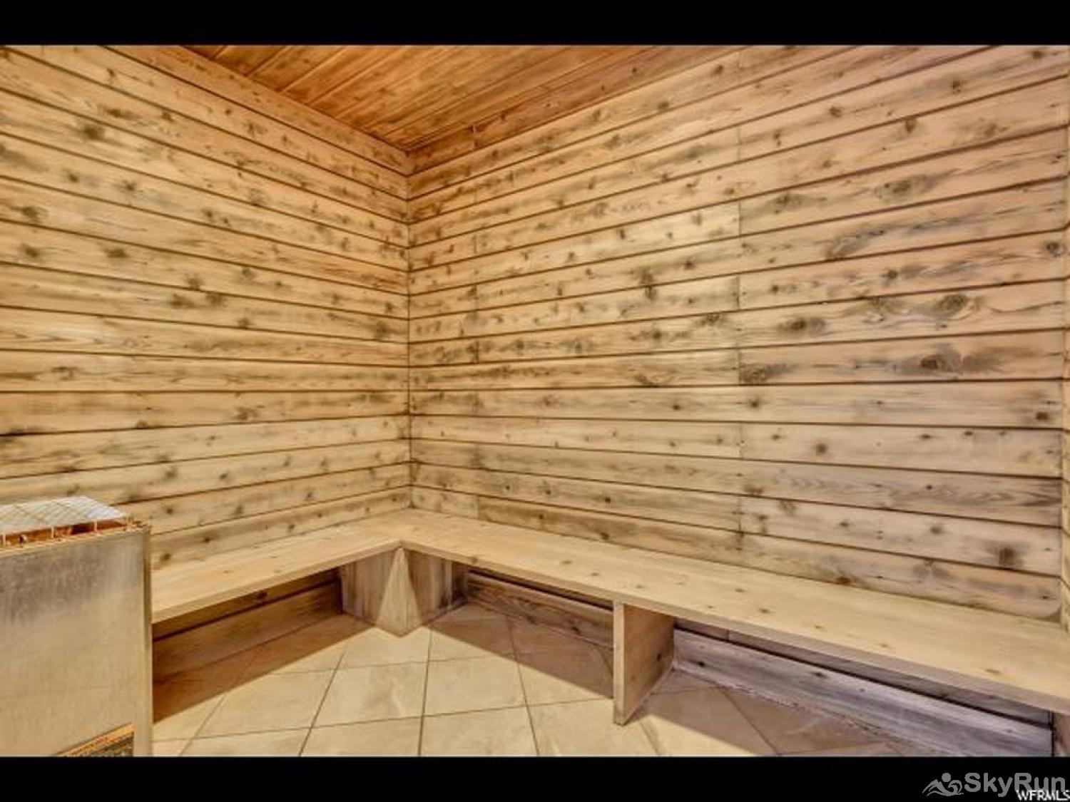 Silverado Lodge Sauna
