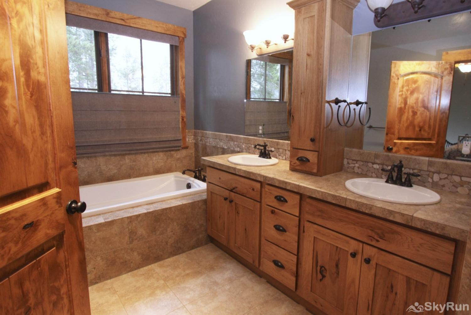 Juniper House Master Bath