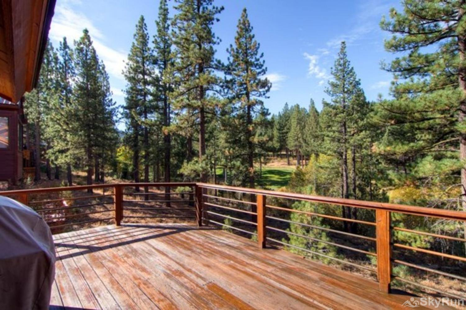 Bear Lodge at Northstar Deck (main level)