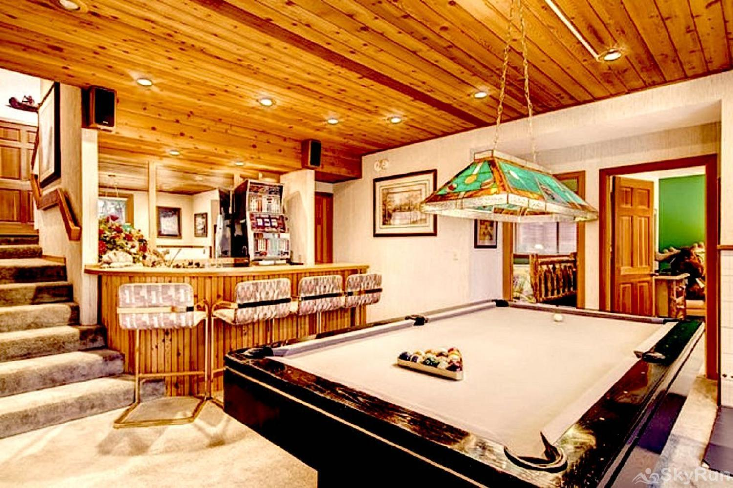 Bear Lodge at Northstar Family/Game Room (lower level)