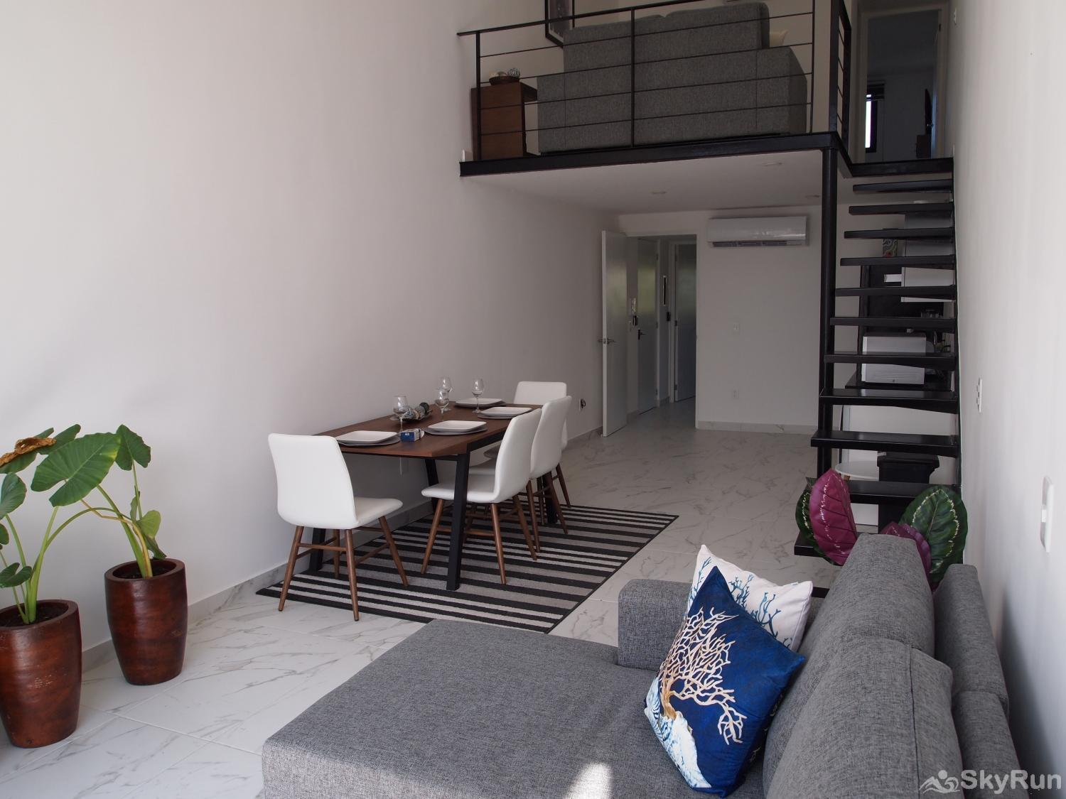 New PRME LoFt 303 Downtown Playa del Carmen Loft with 2 Floors
