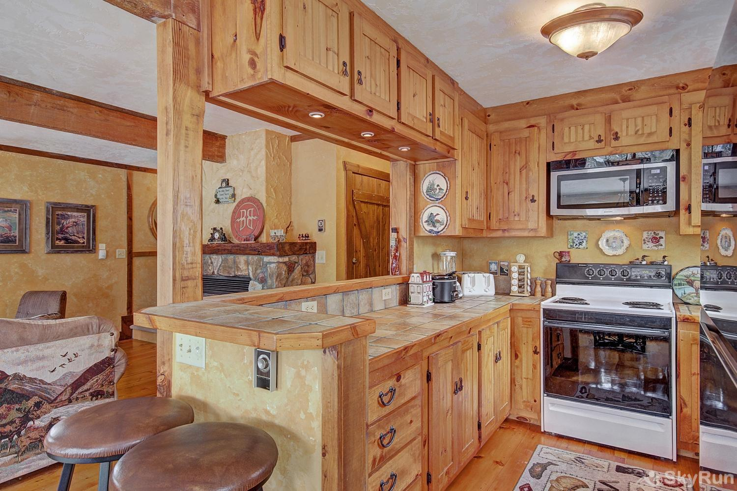 Whispering Pines Additional view of fully equipped kitchen