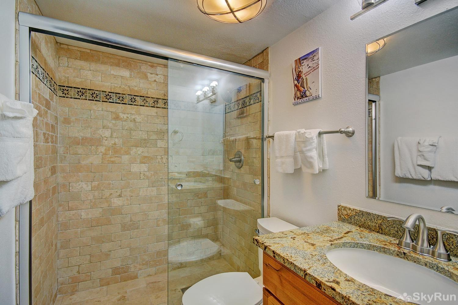 Tyra Summit A2E Queen master ensuite bath with walk-in shower