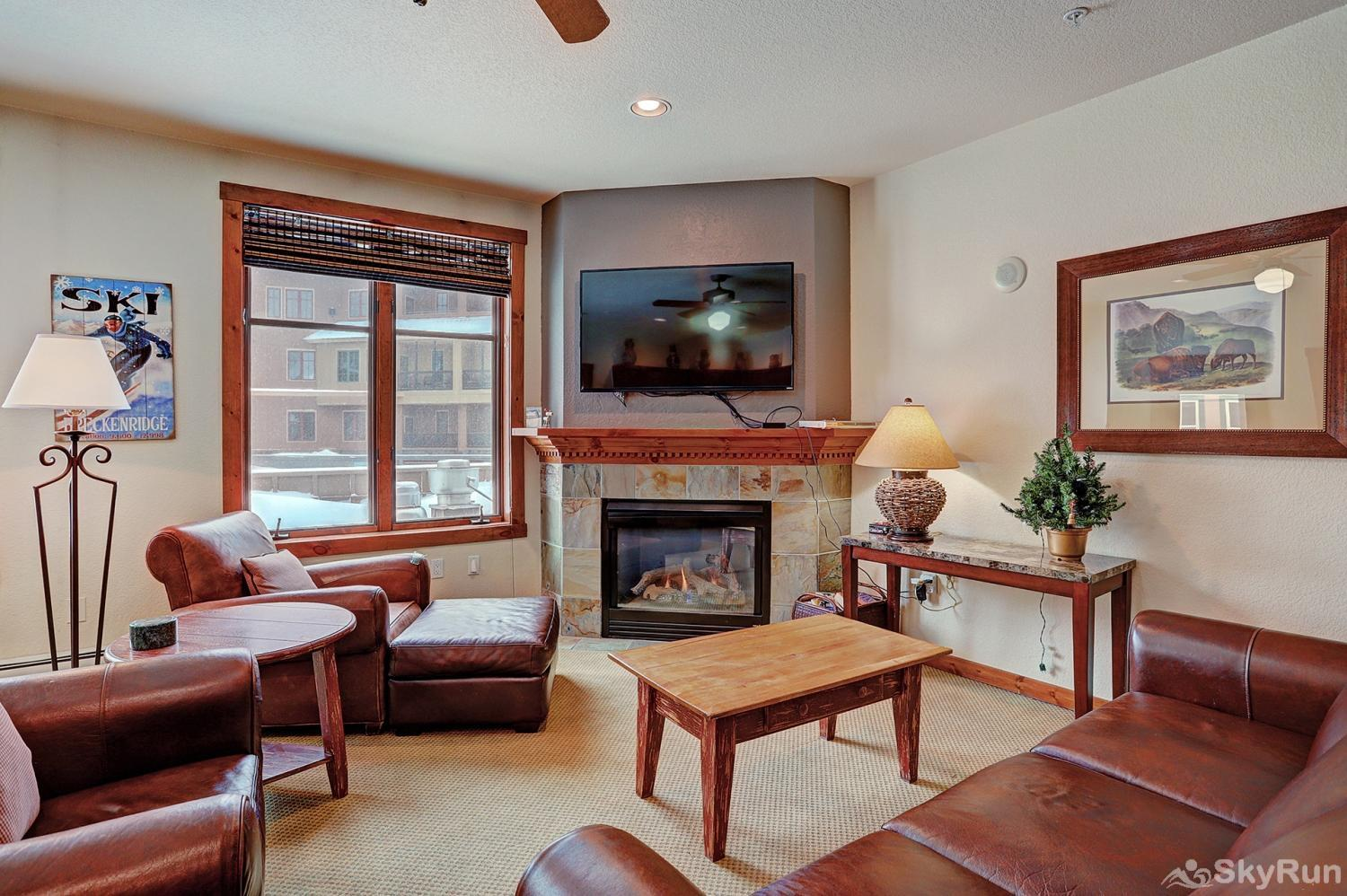 Main Street Station 2203 Additional view of living room