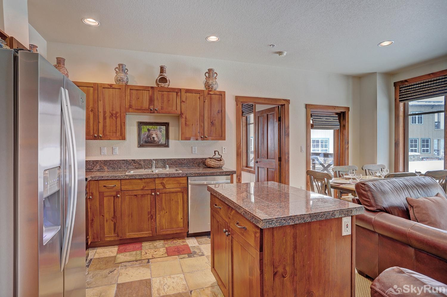 Main Street Station 2203 Enjoy home cooked meals with the convenience of a fully equipped kitchen
