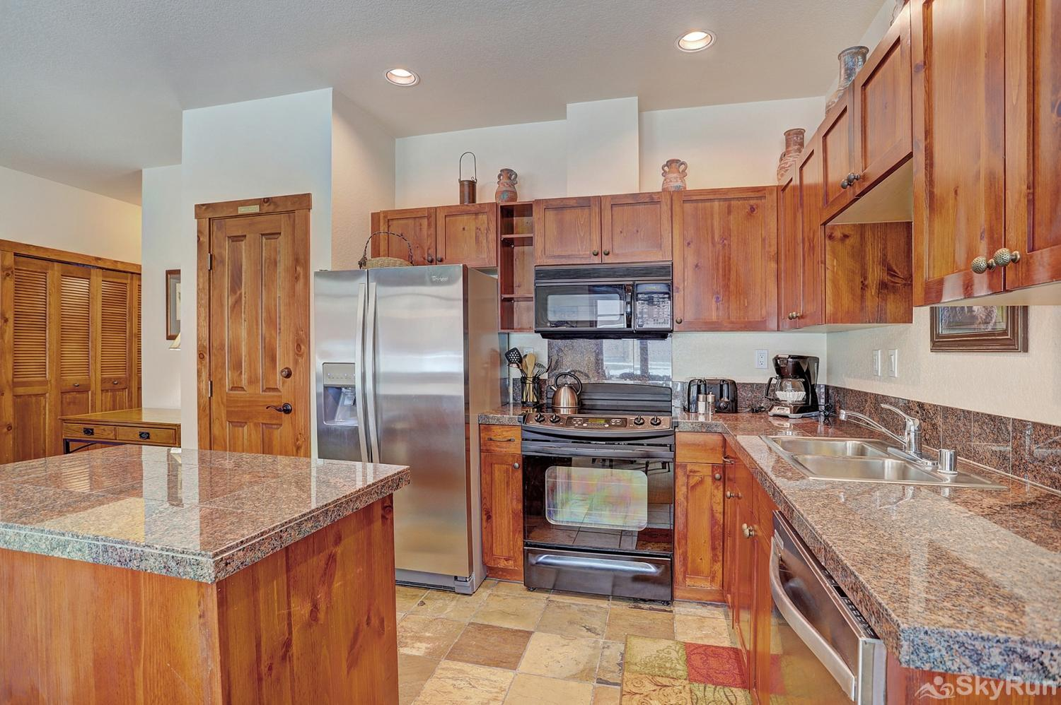 Main Street Station 2203 Prepare tasty home cooked meals with the convenience of a fully equipped kitchen