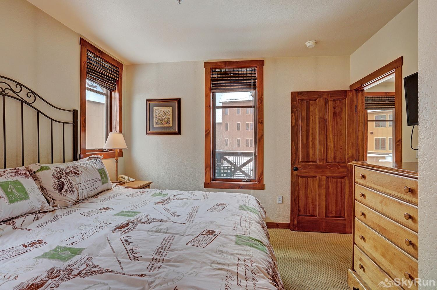 Main Street Station 2203 Additional view of second king bedroom with ensuite bath