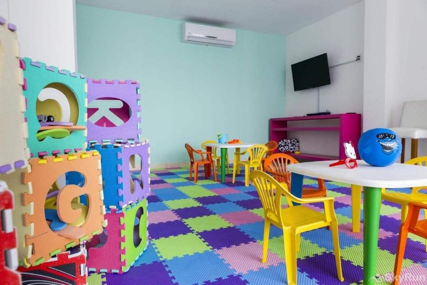 Modern Beach Anah 006D | Playa del Carmen Kids room in beach luxury property
