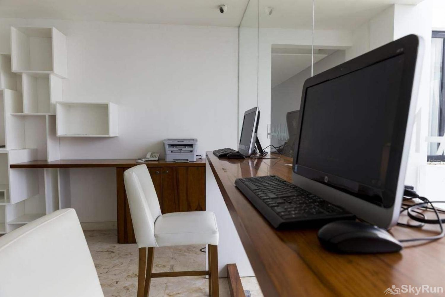 Modern Beach Anah 006D | Playa del Carmen Free Business center inside beach condo