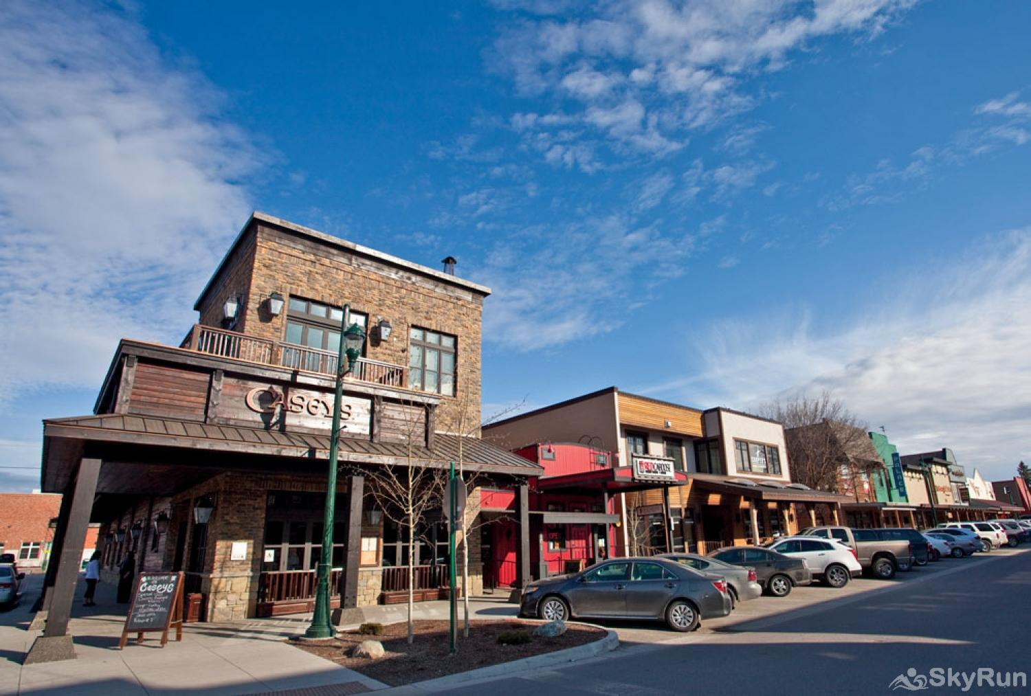 Whitefish River Inn There are great restaurants, coffee shops, breweries and shops galore.