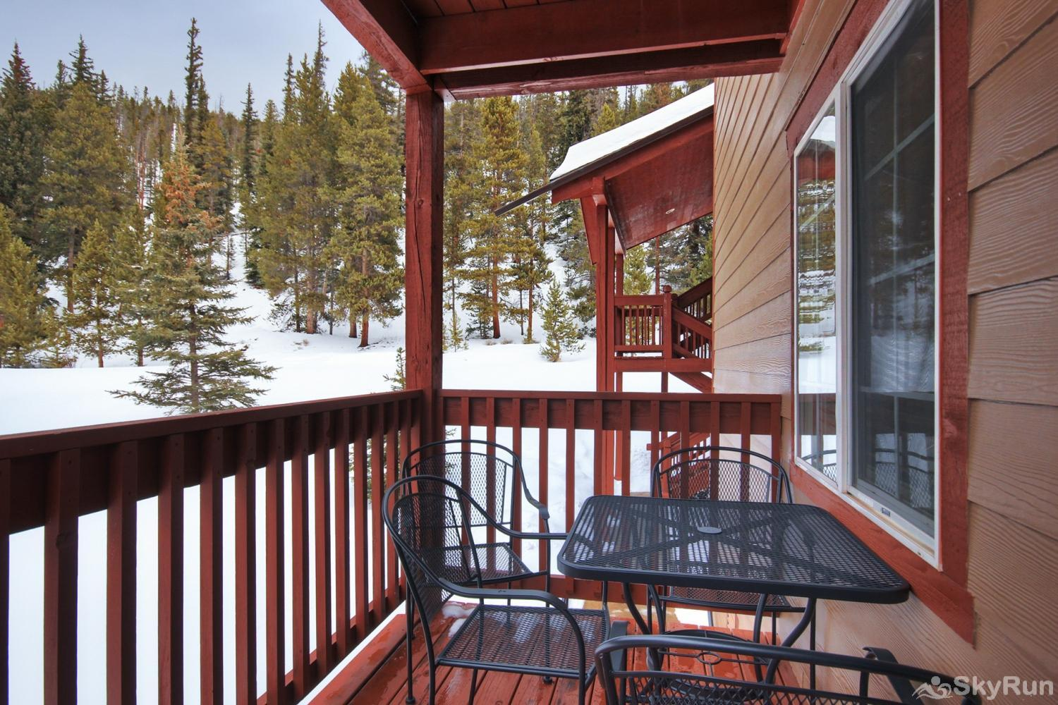 Swans Nest Villa 1601 Enjoy fresh Rocky Mountain air on your private deck