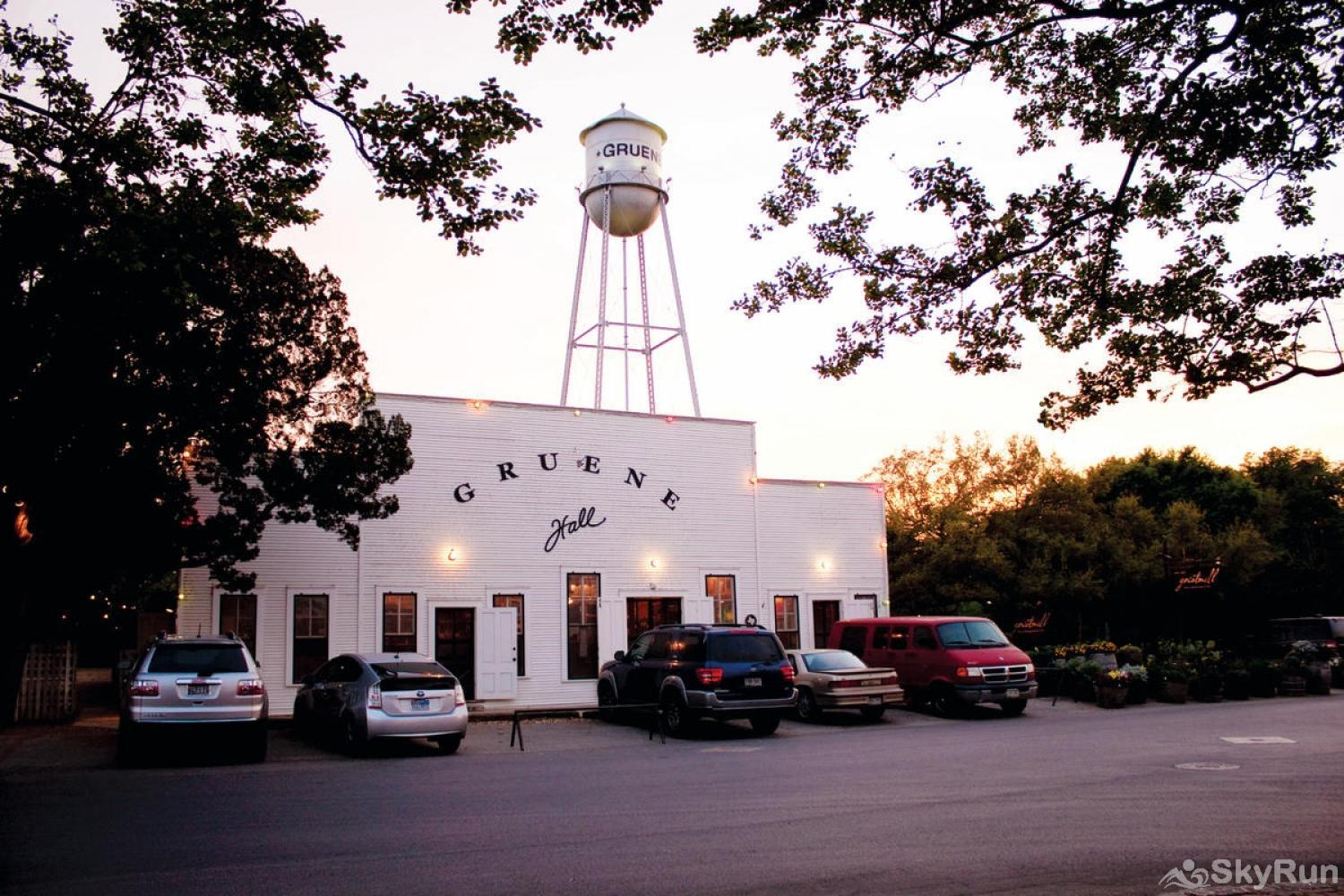 BELLA'S COVE Gruene Hall in nearby New Braunfels