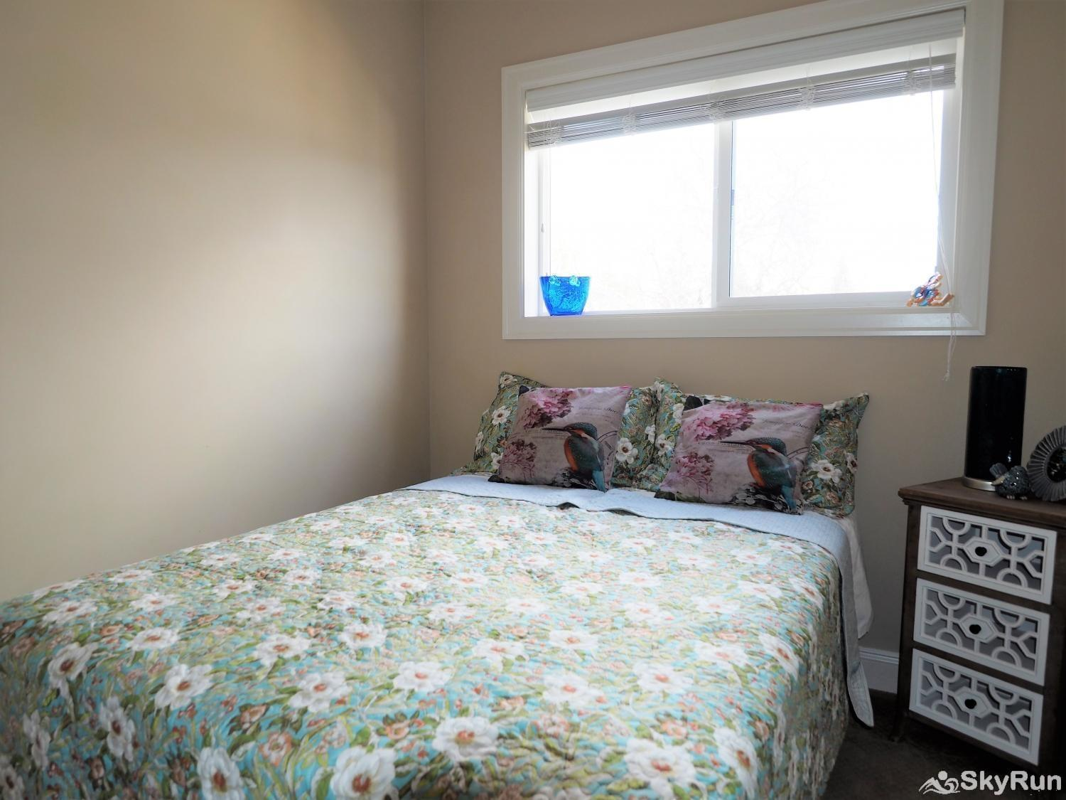 Old Summerland 4 bedroom townhouse Bedroom 3 is on the top floor and has a double bed