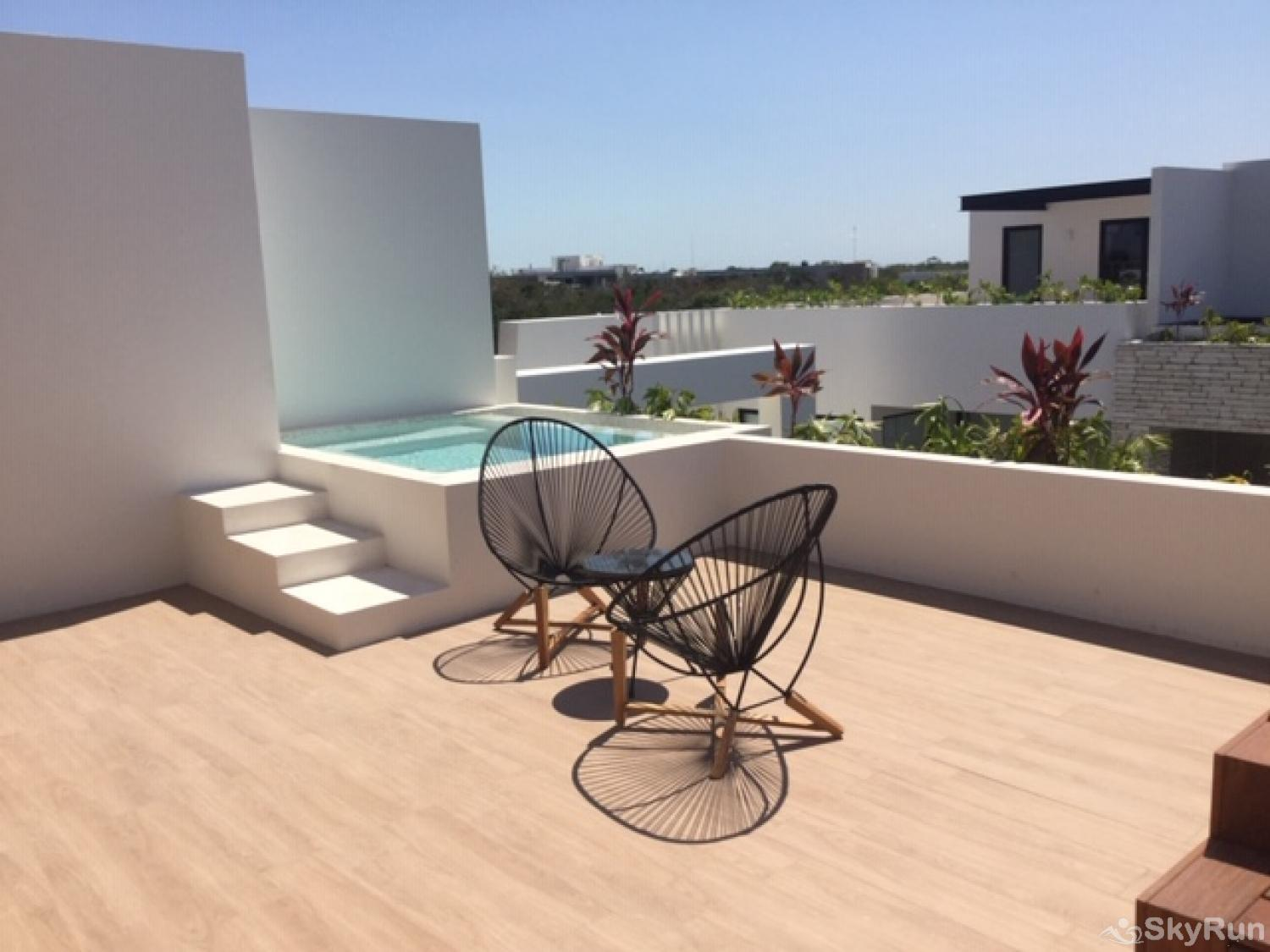 Sanctuary Tulum 2BR Condo Paradise Outdoor Pool 2bd condo with outdoor pool
