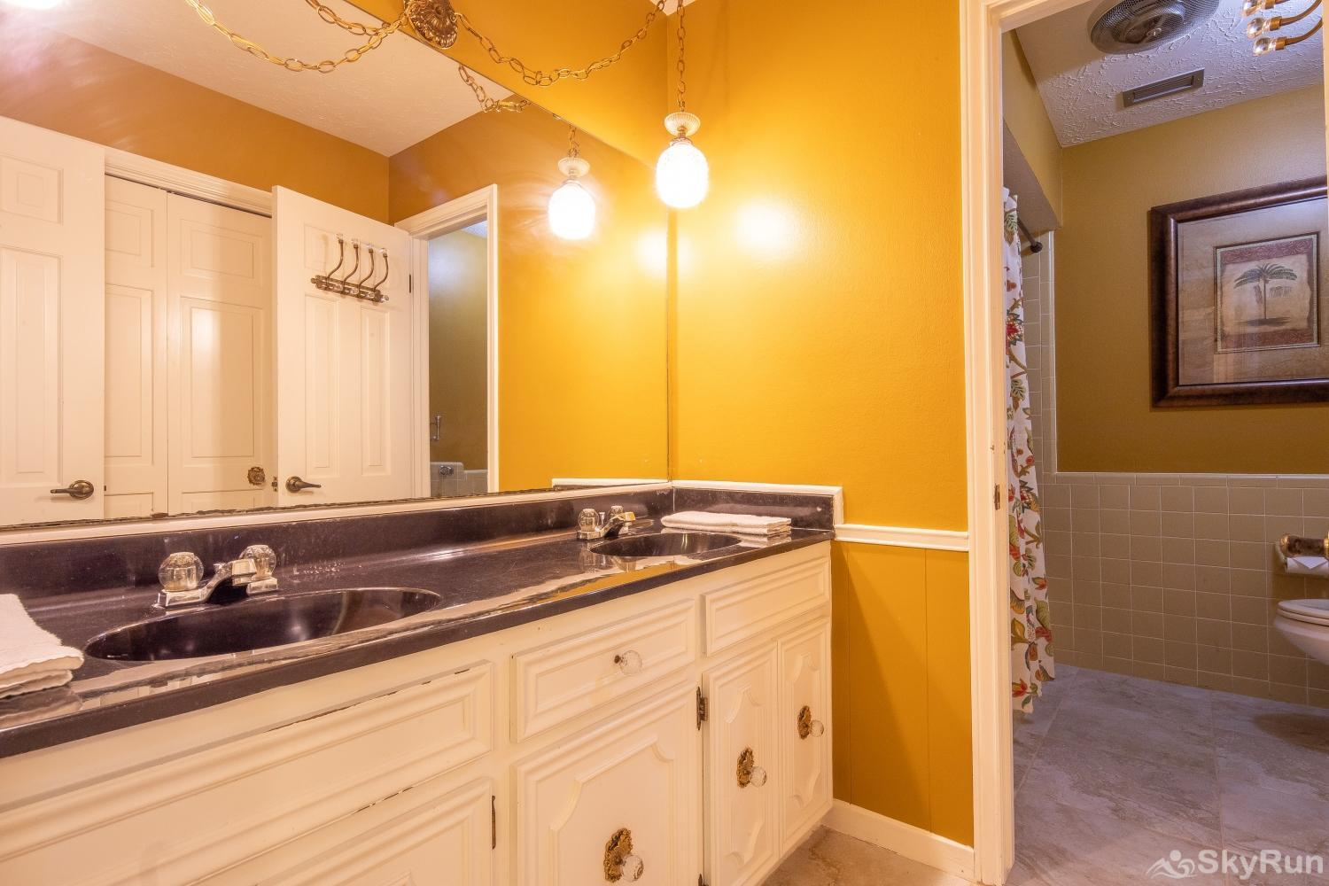 VALLEY VIEW Attached master bathroom