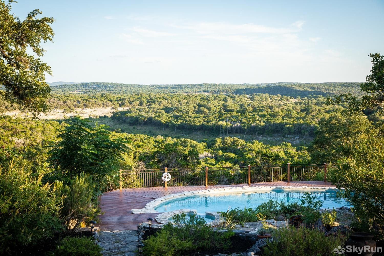 VALLEY VIEW Enjoy one of the best views in Wimberley for yourself