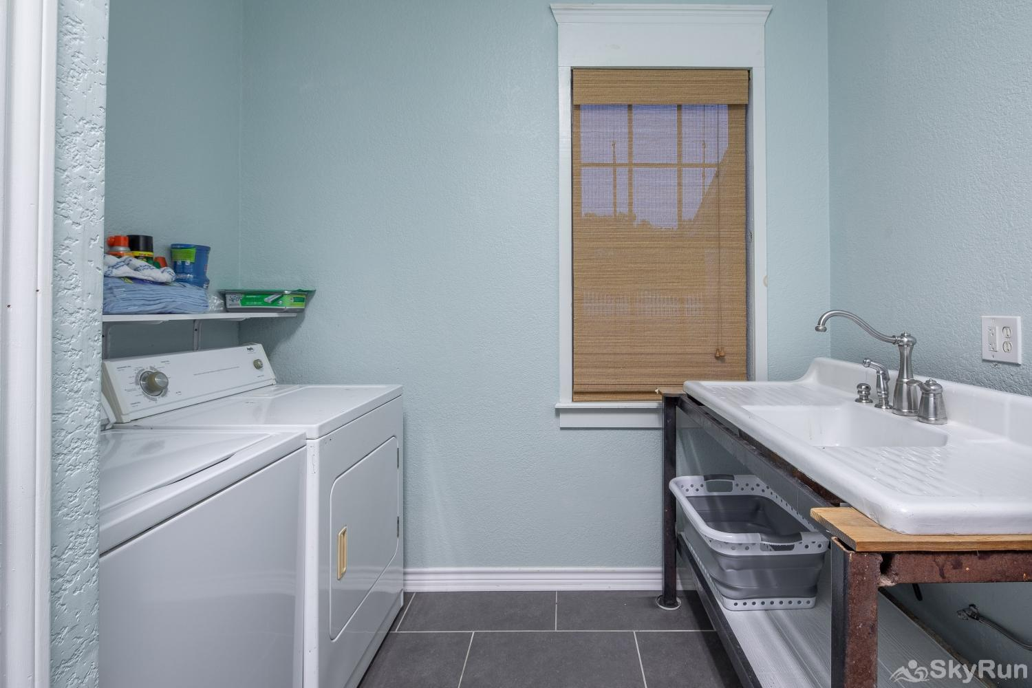 STONE RIDGE RETREAT Laundry room available for guest use