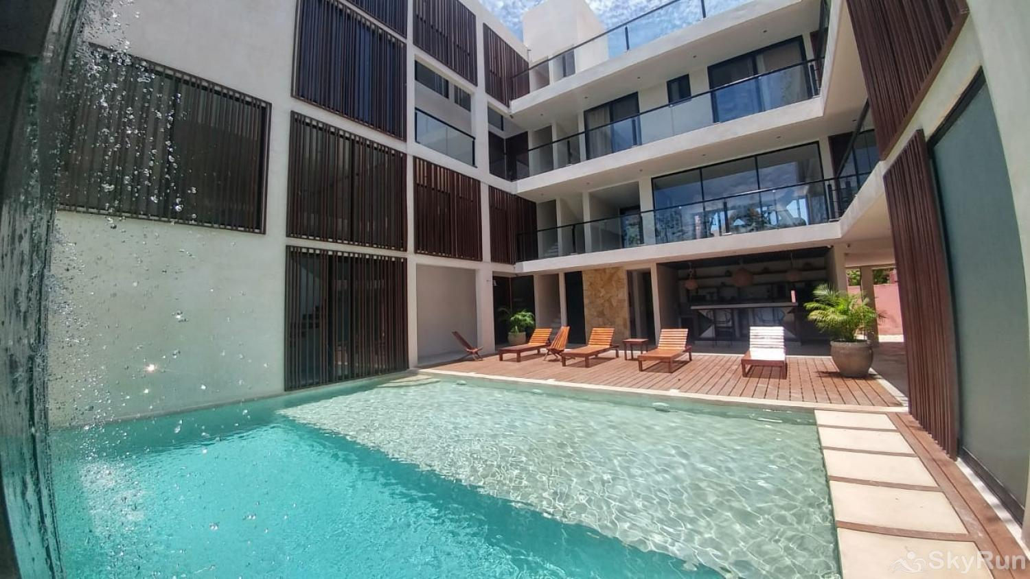 Spacious Condo Trinity Tulum FREE bikes Aldea Zama  302 2nd Outdoor Pool in this complex with luxury Amenities