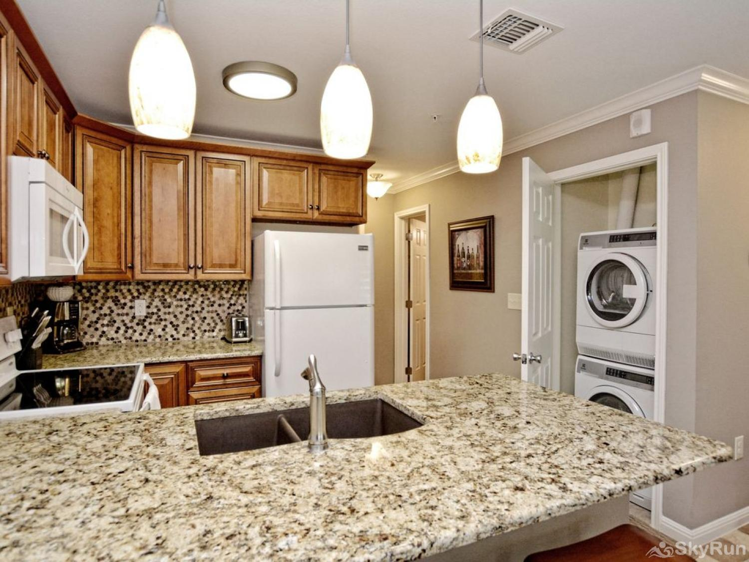 WATERWHEEL PARADISE CONDO Washer and dryer available for guest use