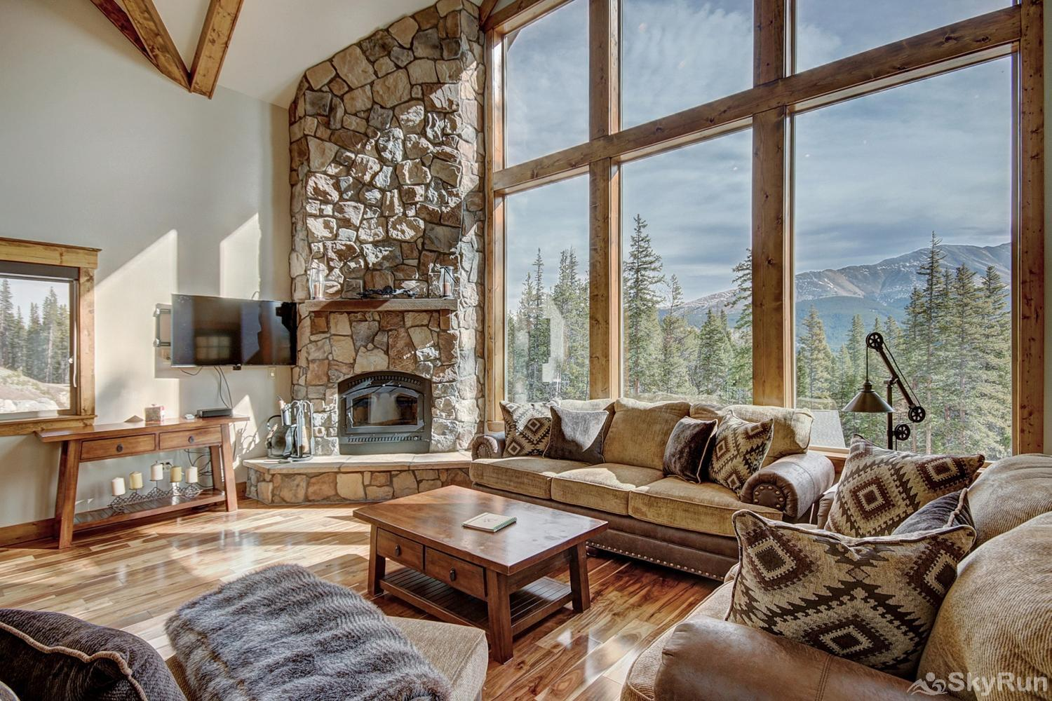 Mountain View Lodge Luxurious mountain home in Breckenridge!