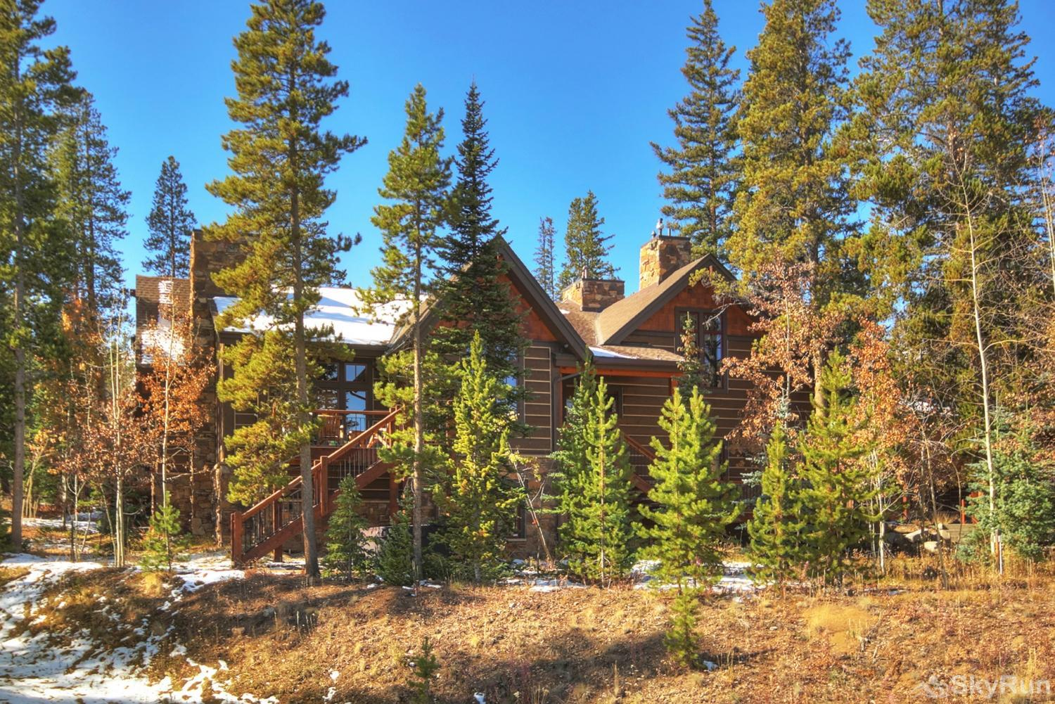 Shock Hill Escape Beautiful forest setting in the Rocky Mountains