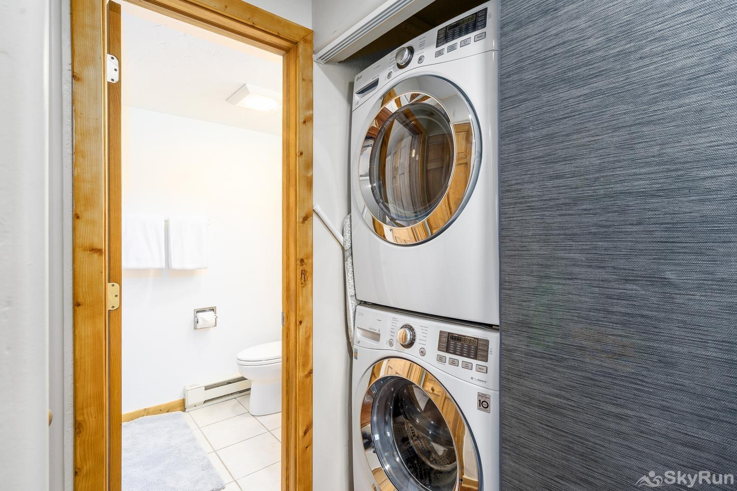 Shadow Run C205 You will have access to this new washer/dryer combo, located right in the condo!