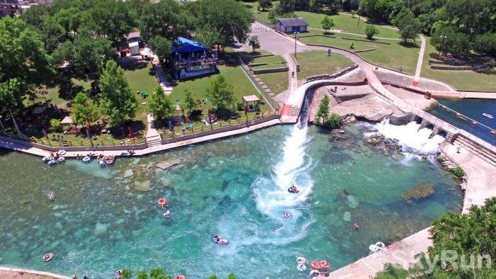 PECAN SHORES RETREAT The Famous Comal River Tube Chute at Prince Solms Park