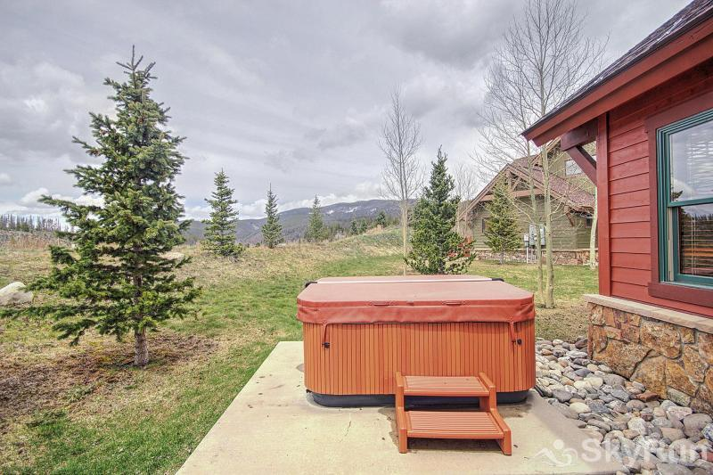 Highland Greens Oak Private outdoor hot tub
