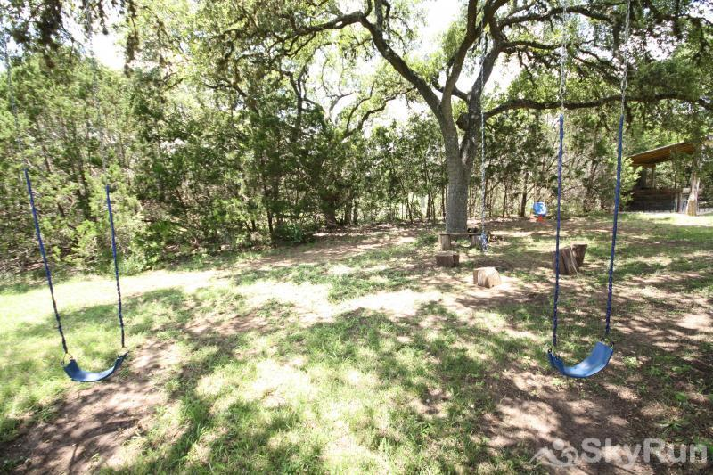 SHEPHERD'S LODGE Swings Under the Oaks